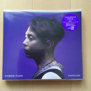 キンキキッズ(KinKi Kids)のHYBRID FUNK(初回盤B) ENDRECHERI (ポップス/ロック(邦楽))
