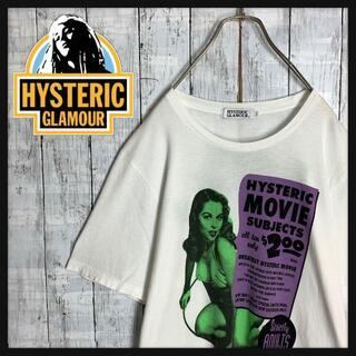 HYSTERIC GLAMOUR - 【最高デザイン☆バックプリント】ヒステリックグラマー ロゴ Tシャツ Lサイズ