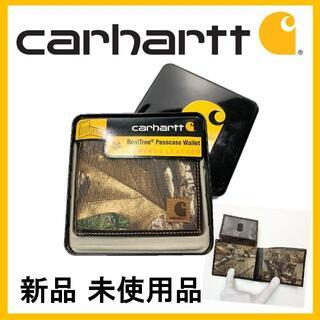 カーハート(carhartt)の★新品 未使用 カーハート キャンバスパスケース ウォレット カモフラ(折り財布)