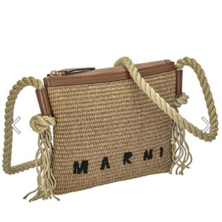 Marni - MARNI マルニ ショルダーバッグ ラフィア