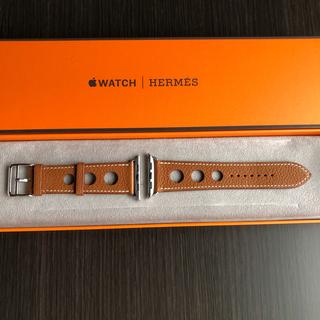 Apple Watch - 未使用 Apple Watch Hermes レザーバンド 44mm