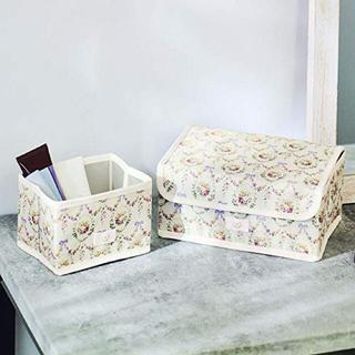 メゾンドフルール(Maison de FLEUR)のsteady 6月号付録 メゾンドフルール収納ボックス(ケース/ボックス)