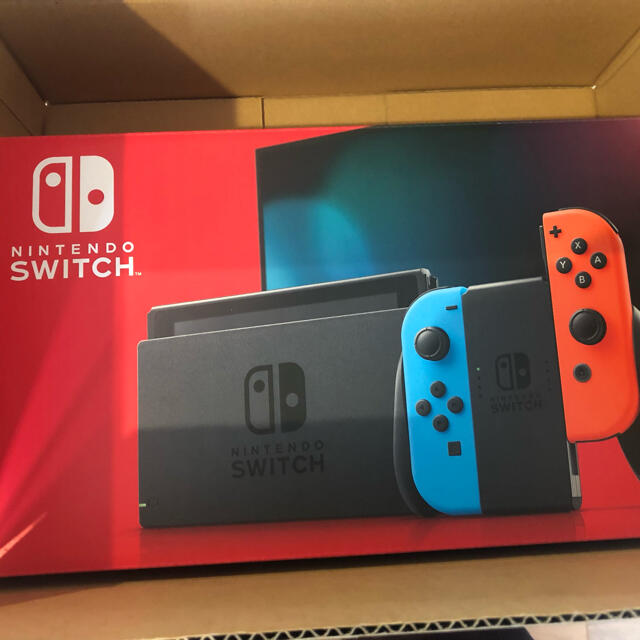 Nintendo Switch(ニンテンドースイッチ)のNintendo Switch 新品 エンタメ/ホビーのゲームソフト/ゲーム機本体(携帯用ゲーム機本体)の商品写真