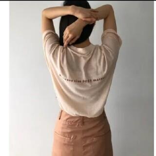 トゥデイフル(TODAYFUL)の新品 Todayful トゥデイフル Tシャツ(Tシャツ(半袖/袖なし))