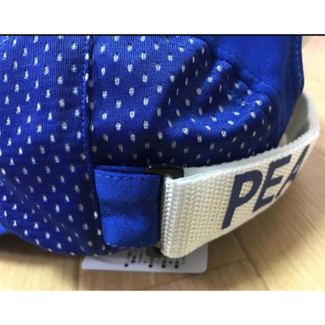 PEARLY GATES(パーリーゲイツ)のPEARLY GATES パーリーゲイツ UVカット メッシュ キャップ ブルー スポーツ/アウトドアのゴルフ(その他)の商品写真