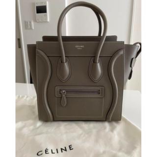 celine - 【CELINE】セリーヌ ラゲージ ハンドバッグ マイクロ