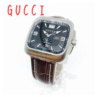 グッチ(Gucci)のGUCCI グッチ  クーペ メンズ腕時計 131.3 電池交換済み(腕時計(アナログ))
