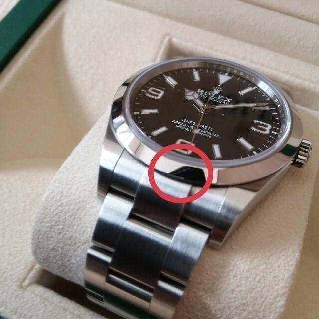 ROLEX(ロレックス)のとしゆき様専用 ROLEX エクスプローラ1(214270) 後期 ロレックス メンズの時計(腕時計(アナログ))の商品写真
