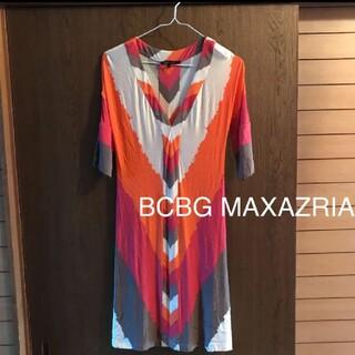 ビーシービージーマックスアズリア(BCBGMAXAZRIA)のBCBG MAXAZRIA ワンピース(ミニワンピース)