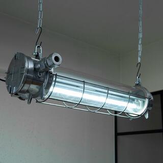 ビンテージ チューブランプ 蛍光灯 インダストリアル 工業系 3 カフェ(天井照明)