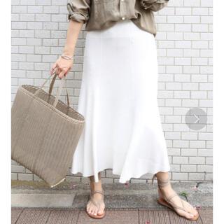 ドゥーズィエムクラス(DEUXIEME CLASSE)のDeuxieme Classe SWING RIB スカート(ロングスカート)