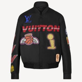 LOUIS VUITTON - louisVuitton NBAロゴスレザーヒーロージャケット52