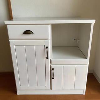 フランフラン(Francfranc)のアイス様 専用   食器棚 キッチンボード フレンチカントリー(キッチン収納)
