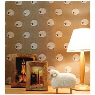 unico - unico sheep 羊柄 カーテン 3枚セット