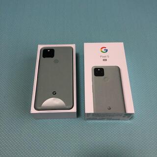 Google Pixel - おまけ付 Google Pixel 5 128GB Sorta Sage