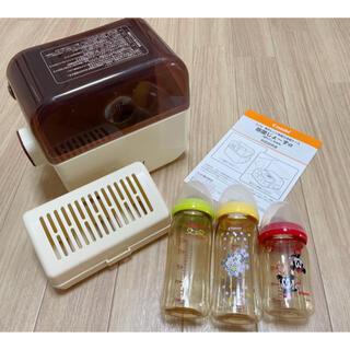 コンビ(combi)のConbi コンビ 除菌じょーずa   哺乳瓶3本セット(哺乳ビン用消毒/衛生ケース)