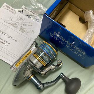 シマノ(SHIMANO)のバイオマスターsw6000hg(リール)