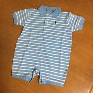 ラルフローレン(Ralph Lauren)の未使用 9M ラルフローレン ロンパース ポロシャツ 風 カバーオール(カバーオール)