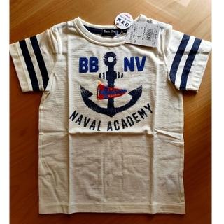 mikihouse - ブラックベア 白 マリン 半袖Tシャツ 110サイズ