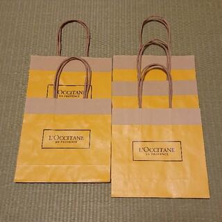ロクシタン(L'OCCITANE)の【新品・未使用】ロクシタン  ショッパー 紙袋 5枚 ギフト 手提げ袋 (その他)