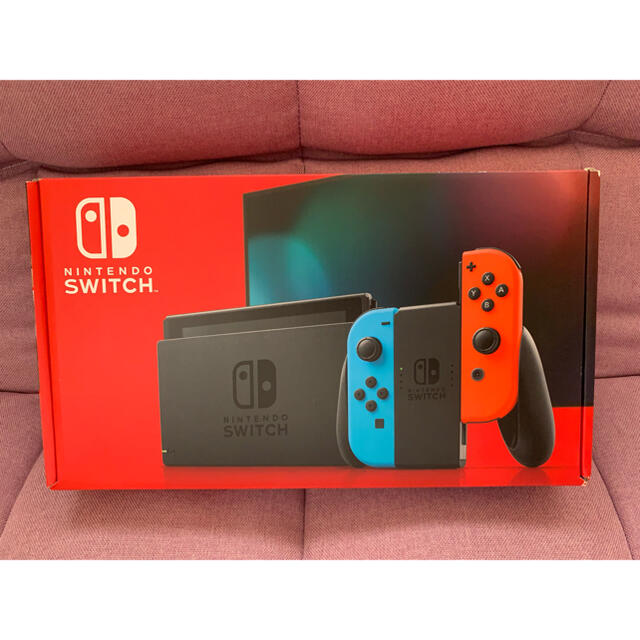 Nintendo Switch(ニンテンドースイッチ)の任天堂 switch 新品 エンタメ/ホビーのゲームソフト/ゲーム機本体(家庭用ゲーム機本体)の商品写真