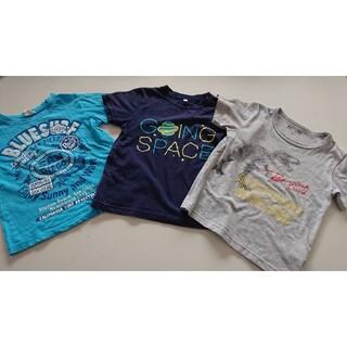 グローバルワーク(GLOBAL WORK)のキッズ 半袖 男の子 110 120 まとめ売り (Tシャツ/カットソー)