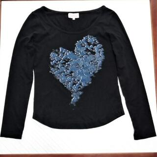ヴィヴィアンウエストウッド(Vivienne Westwood)のヴィヴィアンウエストウッド  ロンT ブラック サイズ1(Tシャツ(長袖/七分))