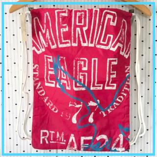 アメリカンイーグル(American Eagle)のAEアメリカンイーグルUS限定ナップサックバックパックリュック(バッグパック/リュック)