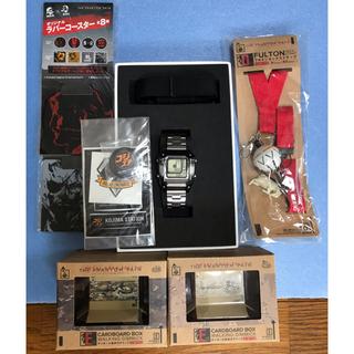 ワイアード(WIRED)のWIRED×メタルギアソリッド5コラボレーションウオッチ<デジボーグ>(腕時計(アナログ))