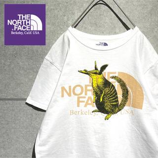 ザノースフェイス(THE NORTH FACE)のノースフェイス  パープルレーベル 希少デザイン グラフィック Tシャツ(Tシャツ/カットソー(半袖/袖なし))