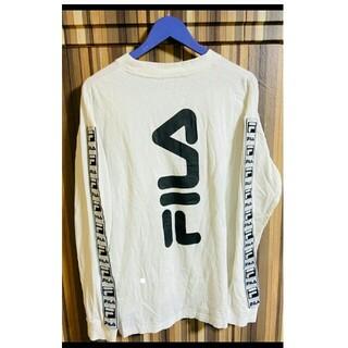 フィラ(FILA)のBTSグク♥激レア♥FILA♥テープロゴロンT♥MCM fr2 OY FENDI(Tシャツ/カットソー(七分/長袖))