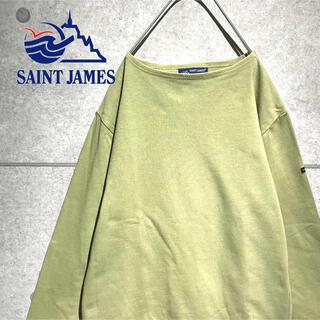 セントジェームス(SAINT JAMES)のSAINT JAMES セントジェームス 美品 単色カラー ウエッソン 長袖(Tシャツ/カットソー(七分/長袖))