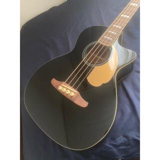 フェンダー(Fender)のFENDER KINGMAN BASS BLACK(アコースティックベース)