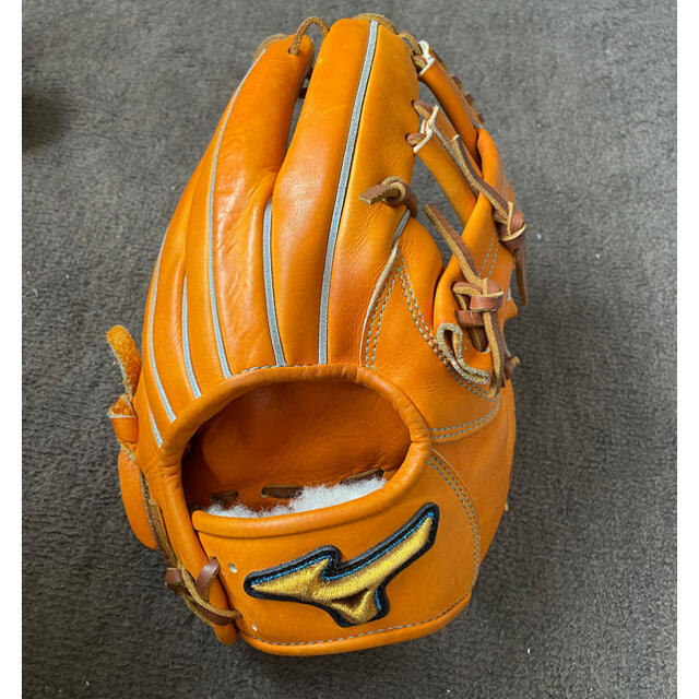 MIZUNO(ミズノ)の激レア!ミズプロ30周年マーク!美品職人型付け スポーツ/アウトドアの野球(グローブ)の商品写真