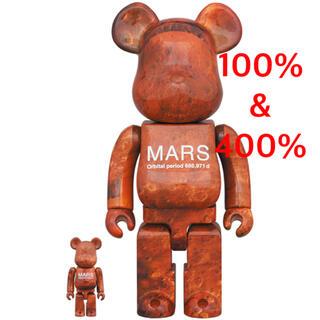 メディコムトイ(MEDICOM TOY)のBE@RBRICK MARS 100% 400% NASA(その他)