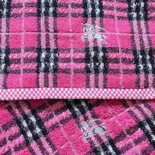 BURBERRY - バーバリー Burberry  新品未使用 フェイスタオル ハンドタオル ピンク