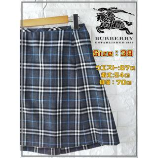 バーバリーブルーレーベル(BURBERRY BLUE LABEL)のBURBERRY バーバリー ノバチェック スカート SS2028(ひざ丈スカート)
