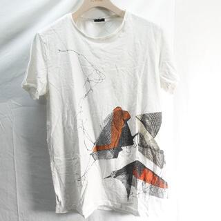プーマ(PUMA)のpuma by hussein chalayan Tシャツ メンズ ホワイト(Tシャツ/カットソー(半袖/袖なし))