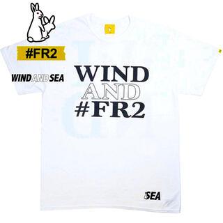 ステューシー(STUSSY)のFR2 WIND AND SEA コラボ 新品 未開封 Tシャツ(Tシャツ/カットソー(半袖/袖なし))