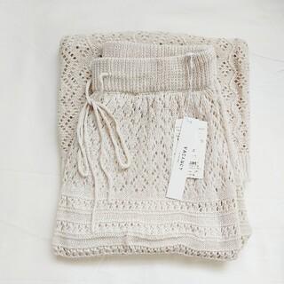 Mila Owen - ❁春にぴったり❁【新品】透かし編みニットスカート