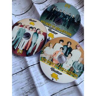 ボウダンショウネンダン(防弾少年団(BTS))のBTS 最新DVD butter 3枚セット⭐️チャプター付き高画質💕2021(ミュージック)