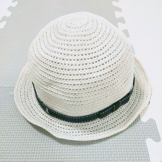familiar - 216*ファミリア 折り畳み可能 春夏帽子