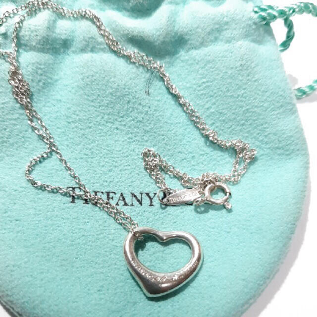 Tiffany & Co.(ティファニー)のティファニー オープンハートネックレス レディースのアクセサリー(ネックレス)の商品写真