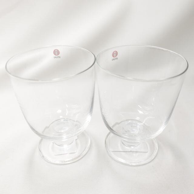 iittala(イッタラ)のiittala  ペアグラス クリア インテリア/住まい/日用品のキッチン/食器(グラス/カップ)の商品写真