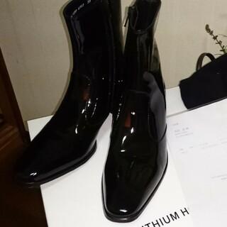 リチウムオム(LITHIUM HOMME)のリチウムオム レザー ヒールブーツ(ブーツ)