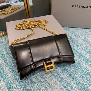 Balenciaga - HOURGLASS チェーン ミニウォレット