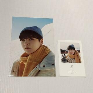 BTS  ユンギ ウィンパケ カード 生写真