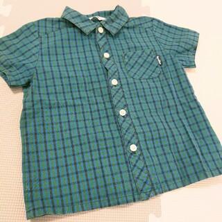 familiar - 220*ファミリア ファミリアチェックシャツ