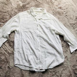サマンサモスモス(SM2)のSM2  7部丈白シャツ(シャツ/ブラウス(長袖/七分))