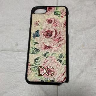 ドルチェアンドガッバーナ(DOLCE&GABBANA)のドルチェ&ガッバーナiPhoneケース 花柄(iPhoneケース)